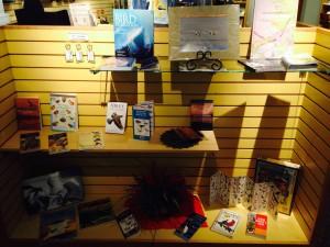 Avocet Corner Bookstore Swan Day Display 2015